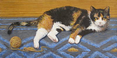 Painting - Kitty by Donelli  DiMaria