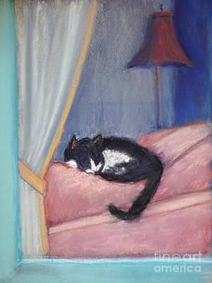 Kitty In The Window Original