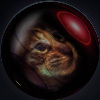 Digital Art - Kitty Lost by Richard Ricci