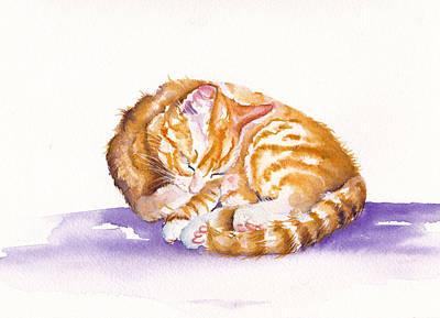Kitty Manicure Original by Debra Hall
