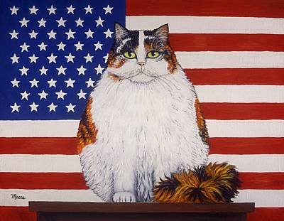 American Independance Painting - Kitty Ross by Linda Mears
