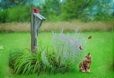 Kitty's Fantasy Original by Mary Timman