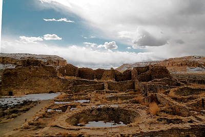 Food And Flowers Still Life - Kiva and Ruins  by Jeff Swan