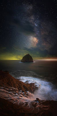Photograph - Kiwanda Nights by Darren White