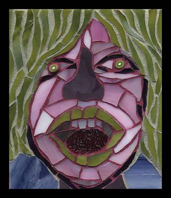 Kiwi - Fantasy Face No. 10 Original by Gila Rayberg
