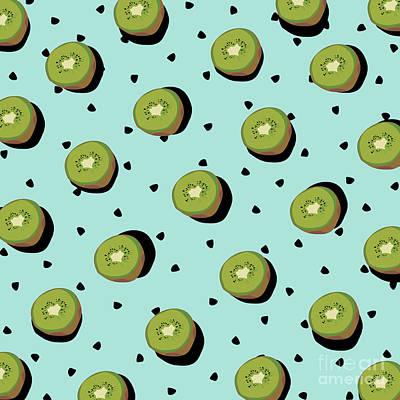 Kiwi Drawing - Kiwi Fruit by Elizabeth Tuck