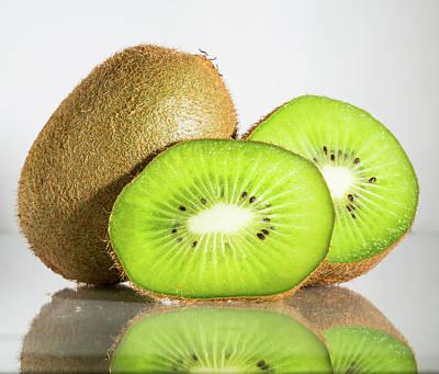 Fruit Photograph - Kiwi Fruit by Frani Smith