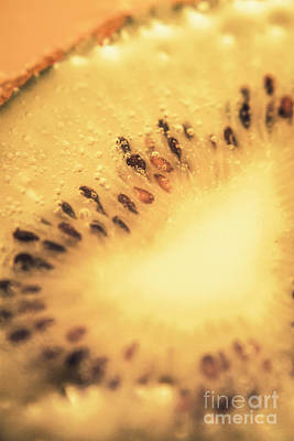 Kiwi Margarita Details Art Print by Jorgo Photography - Wall Art Gallery