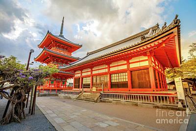 Photograph - Kiyomizu Dera Temple Kyoto by Benny Marty