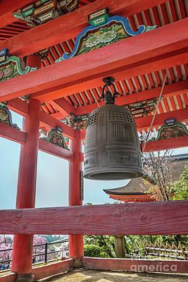 Photograph - Kiyomizudera Bell Tower by Karen Jorstad