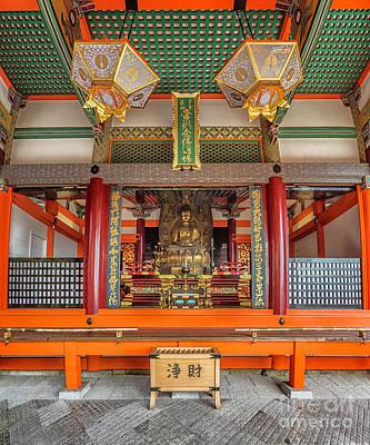Photograph - Kiyomizudera Buddah Shrine by Karen Jorstad