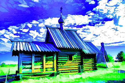 Photograph - Kizhi Island Chapel by Rick Bragan