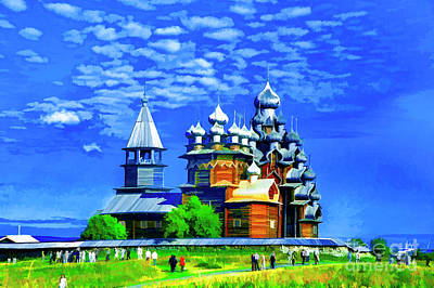Photograph - Kizhi Island Church by Rick Bragan