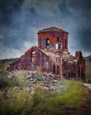 Photograph - Near Guzelyurt, Turkey - Kizil Kilise - The Red Church by Mark Forte