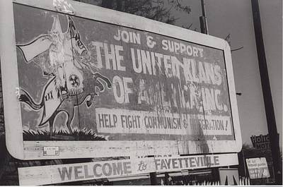 Kkk- 1975 Art Print by Signs Of The Times Collection