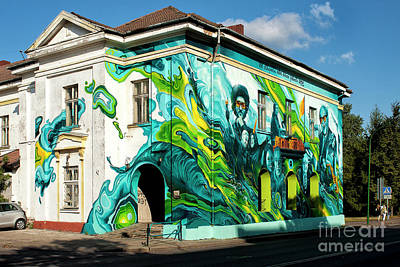 U2 Photograph - Klaipeda Jazz Festival by Christian Hallweger