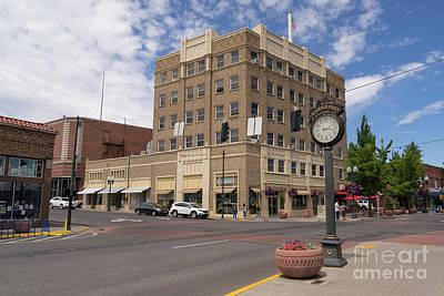 Photograph - Klamath Falls Oregon Oregon Bank Building Dsc5084 by Wingsdomain Art and Photography