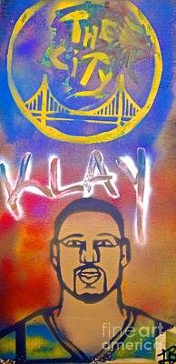 Tony B. Conscious Painting - Klay Thompson #2 by Tony B Conscious