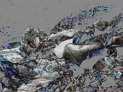 Kleanza Rocks II Art Print by Anne Havard