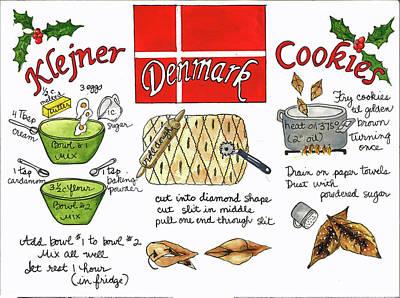 Painting - Klejner Cookies by Diane Fujimoto