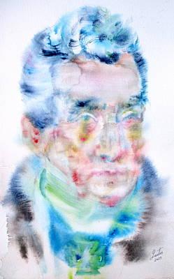 Klemens Von Metternich - Watercolor Portrait Original