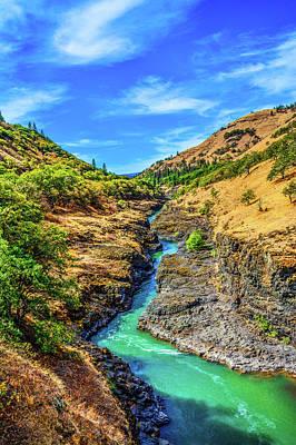 Photograph - Klickitat River Canyon by Jason Brooks