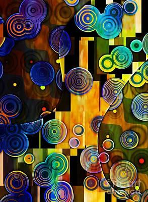 Klimt Digital Art - Klimt Inspired I by Amanda Moore