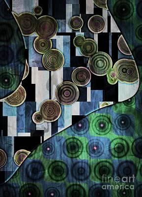 Klimt Digital Art - Klimt Inspired II by Amanda Moore
