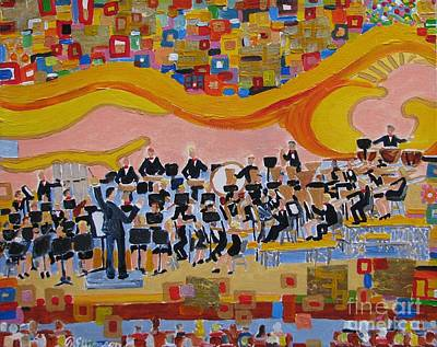 Painting - Klimt's Band by Rodger Ellingson