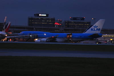 Photograph - Klm 747  by Puzzles Shum