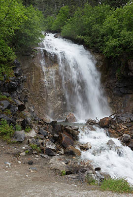Photograph - Klondike Waterfall by Ed Clark