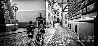 Photograph - Klostera Street In Old Riga by RicardMN Photography