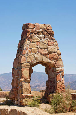 Photograph - Knapp's Castle Chimney by Art Block Collections