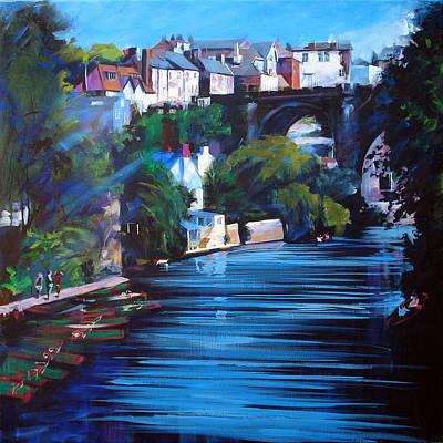 Wall Art - Painting - Knaresborough Viaduct by Neil McBride
