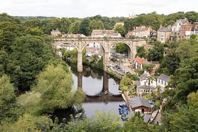 Photograph - Knaresborough In England by Phil Stone