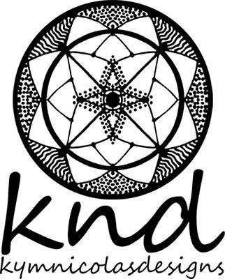 Painting - Knd Logo by Kym Nicolas