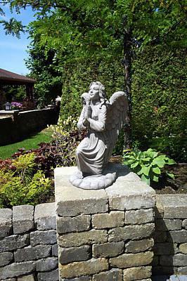 Sculpture - Kneeling Angel by Patrick RANKIN