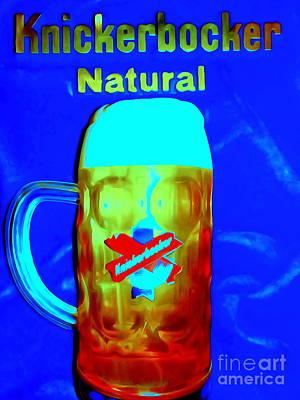 Digital Art - Knickerbocker Ale by Ed Weidman