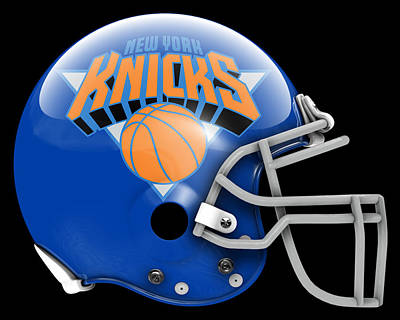 Knicks Painting - Knicks What If Its Football by Joe Hamilton