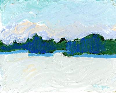 Painting - Knife Lake by Rodger Ellingson