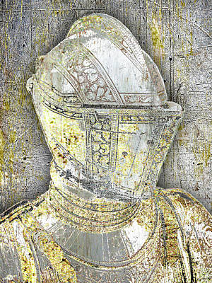Mixed Media - Knight 1 by Tony Rubino