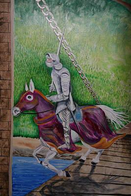 Knight  A Coming Art Print