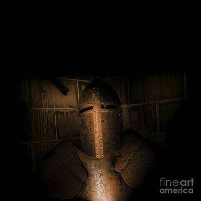 Knight Of Darkness Print by Jorgo Photography - Wall Art Gallery