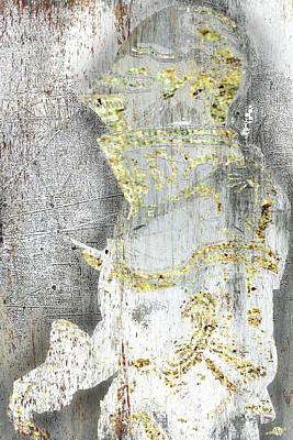 Abstract Horses Mixed Media - Knight by Tony Rubino