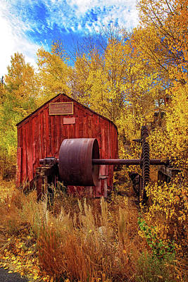 Photograph - Knight Wheel In Fall Finery by Lynn Bauer