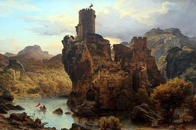 Knights Castle Art Print