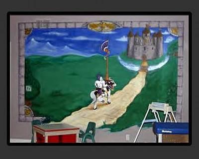 Knights Castle Mixed Media - Knights Crossing by Derek Crenshaw