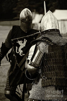 Renaissance Fairs Photograph - Knights Of Old 13 by Bob Christopher