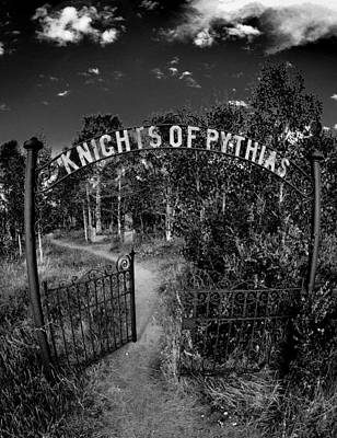 Photograph - Knights Of Pythias Gate by Kevin Munro