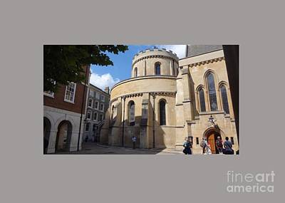 Firefighter Patents - Knights Templar Church- London by Frederick Holiday